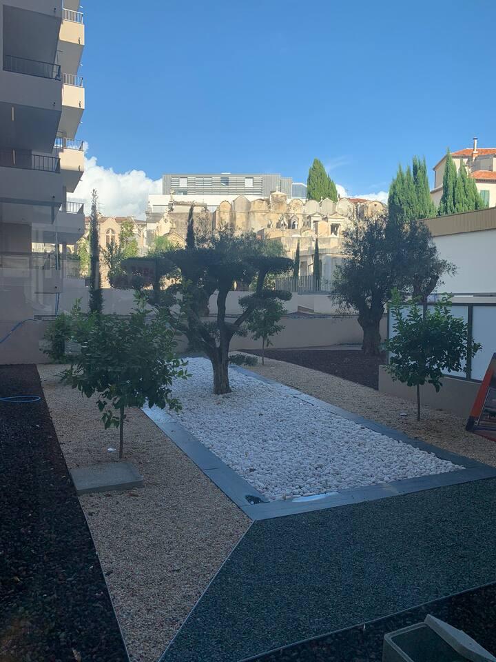 Jolie appartement à Nice avec parking privé