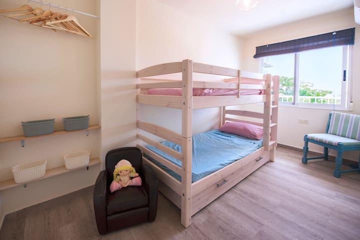 Dormitorio 3 con litera
