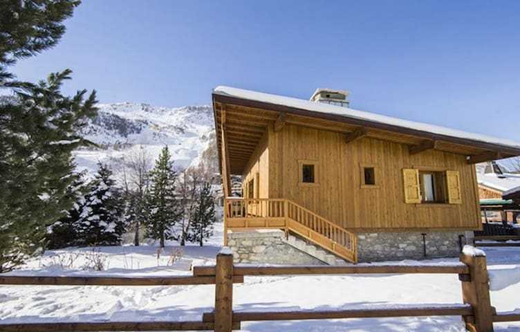 Chalet with wonderful mountain view - Val-d'Isère - Xalet