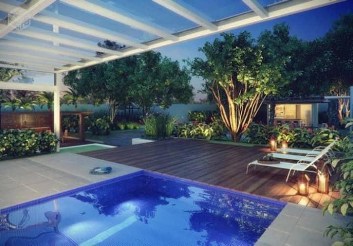 Flat Apartamento Mobiliado em Campinas - Guanabara