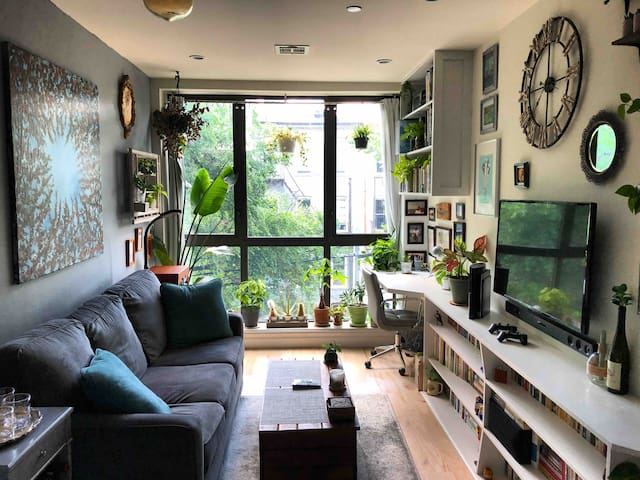 Charming remote-friendly flat in historic Bed Stuy