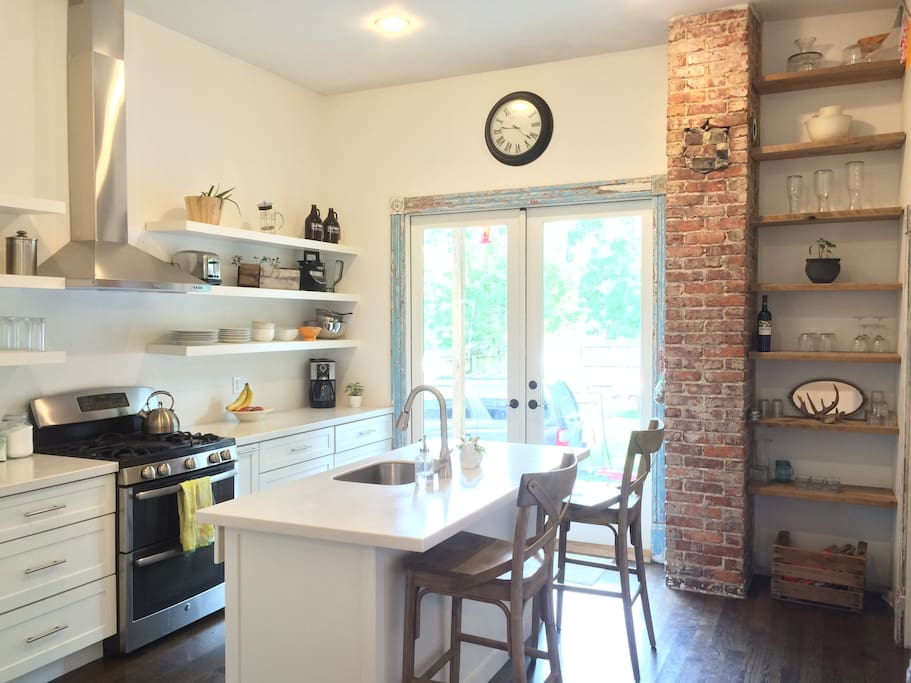 Renovated Kitchen/stocked with essentials