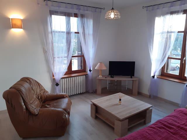 Appartement accueillant au cœur de La Margeride