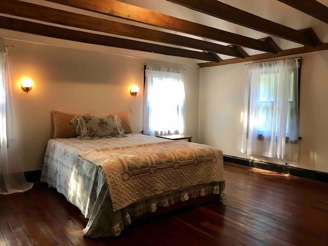 Master Bedroom at the Forest Oasis.