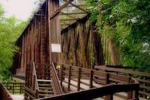Railroad Bridge Park in Sequim.