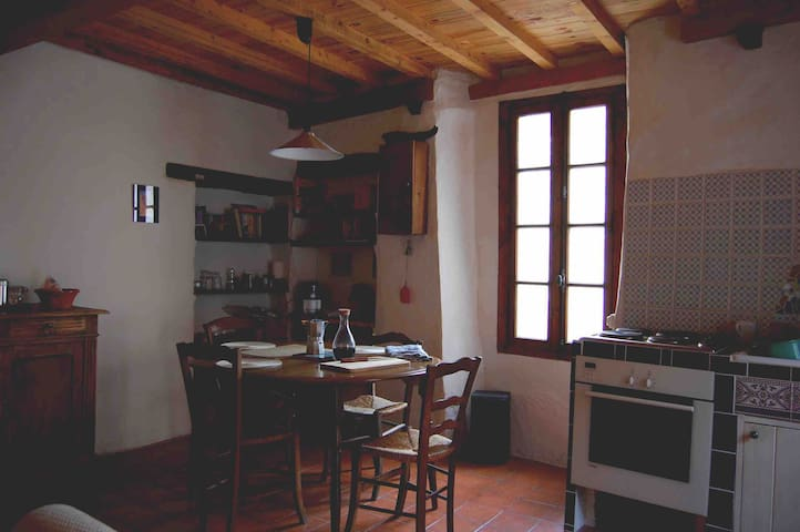 Classic Catalan village house
