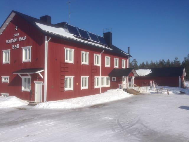 Vuotson Maja,  B&B, room Lokka - Vuotso, Sodankylä - Bed & Breakfast