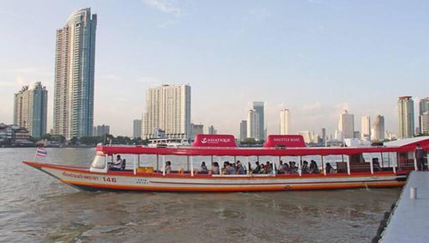 Bangkok Panorama River View Suite Getaway