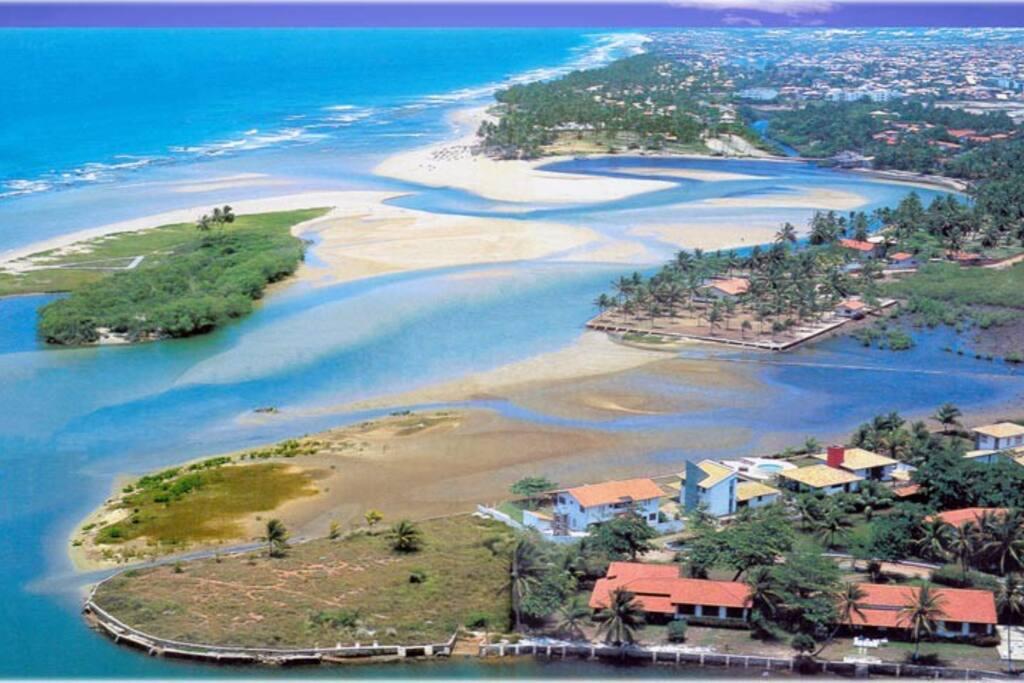 Vista aérea de Buraquinho.