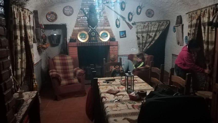 Casa Cueva con Encanto . Turismo Rural .
