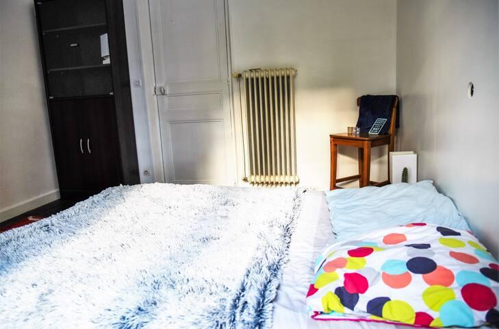 Chambre 2 personnes à 20 min de Versailles - Jouars-Pontchartrain - Hus