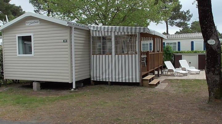 MH 3Ch- Camping **** La Pignade Ronce Les Bains 17