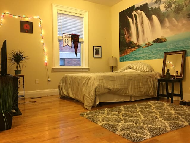 Spacious Private Room in Southie.