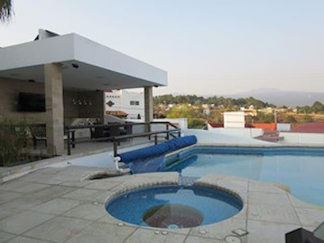 Impresionante casa en Cuernavaca