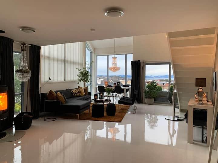 Modern, fashionable and cheap apartment