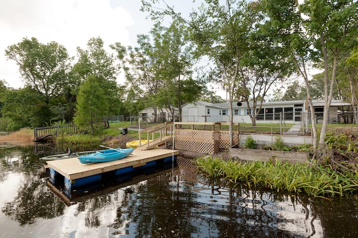 Water Front House in  Weeki Wachee