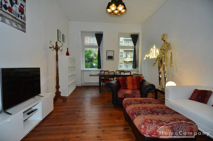 Bright Apartment in Friedrichshain, Berlin