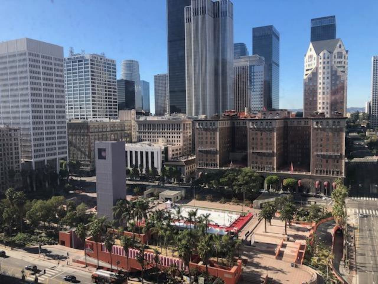 Pershing Square view from rooftop