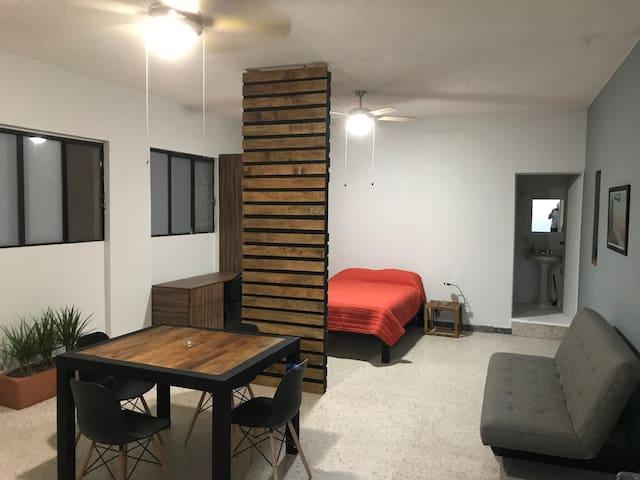 Mini loft en pleno Centro Historico