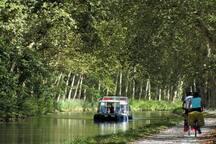 Le canal du Midi à 1 km