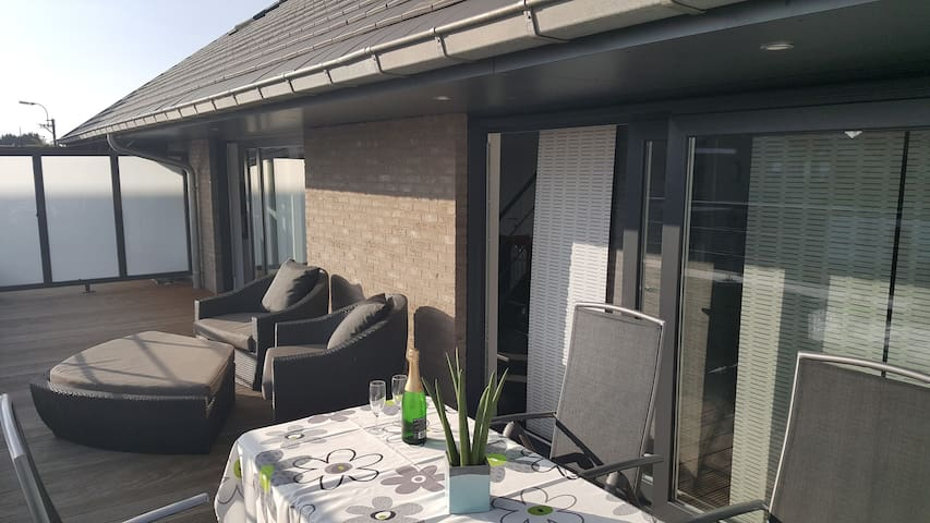 Bon-temps business & Leisure apartment near Ghent - Evergem - Pis