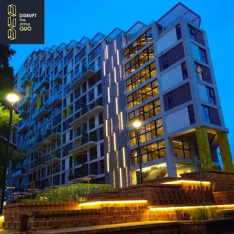 Apartamento Nuevo, Moderno y  Equipado Zona 4