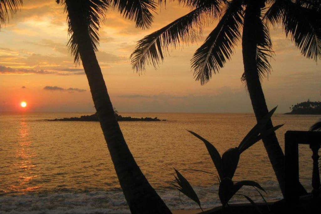 sundown/sea view