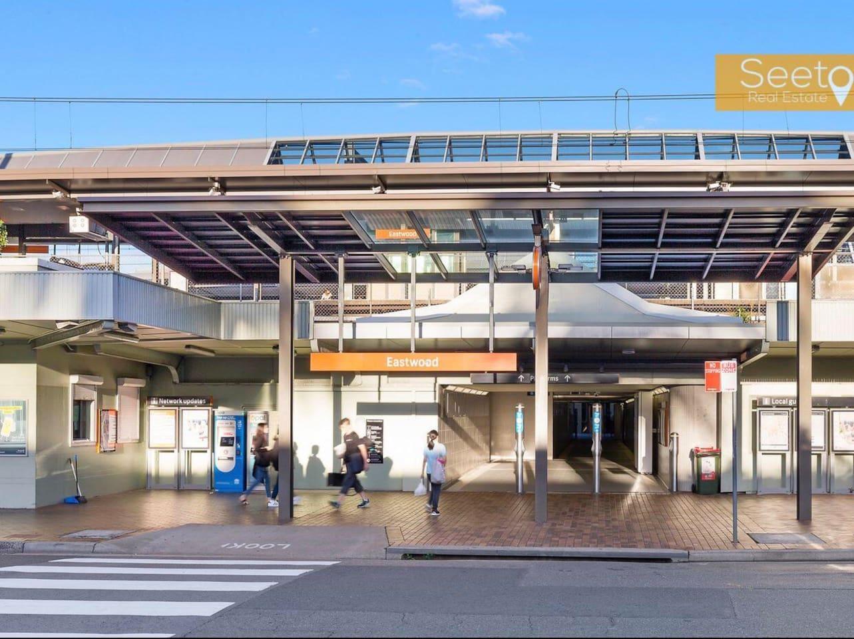 Eastwood train station -6 mins walk