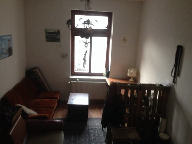 Zimmer in cooler WG nahe Eisenbahnstraße.