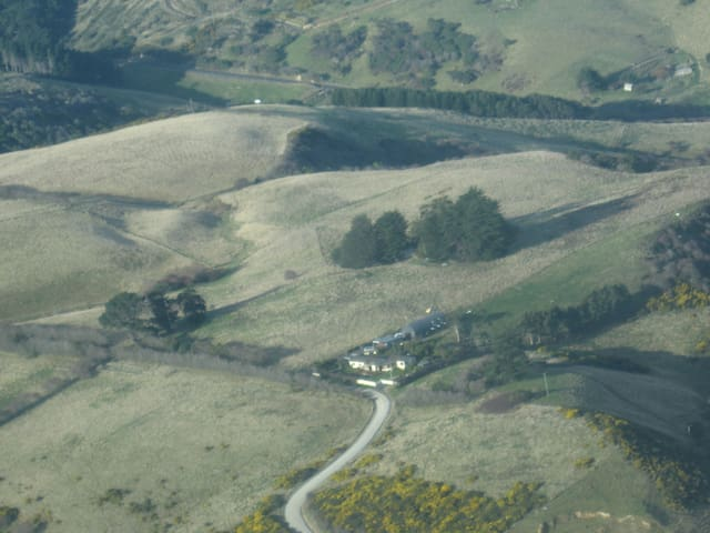 Countryside haven close to the city - Dunedin - Daire