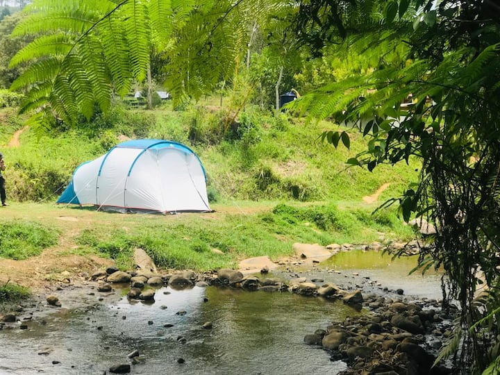 Glamping Ciwidey Riverside Ranca Cangkuang Bdg
