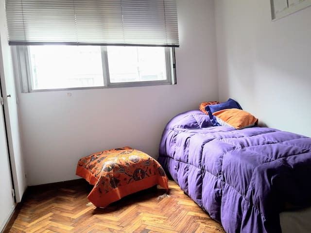Alegre luminosa y confortable habitación single - Buenos Aires - Apartmen