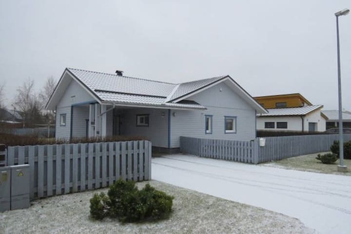 Private House, 3 Rooms, Parking, 10min from Centre - Tartu - Casa