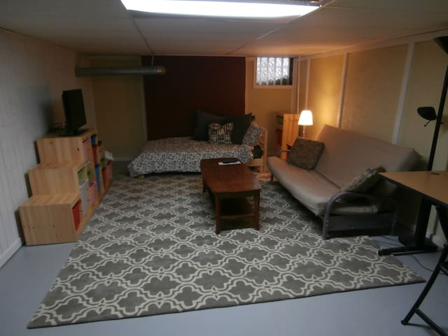 Studio apt near downtown Lansing - Lansing - Huis