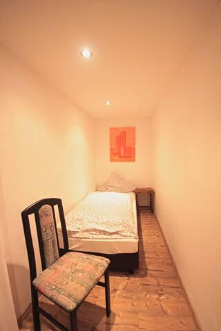 Einzelzimmer mit Dusche und WC