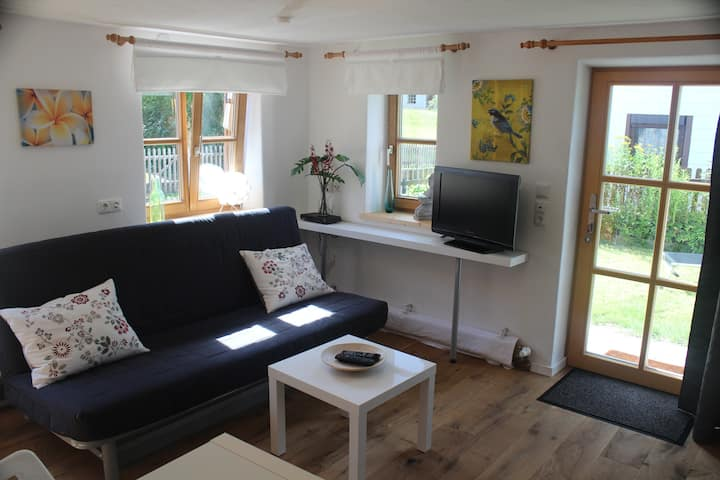 Bright apartment in the village Waal