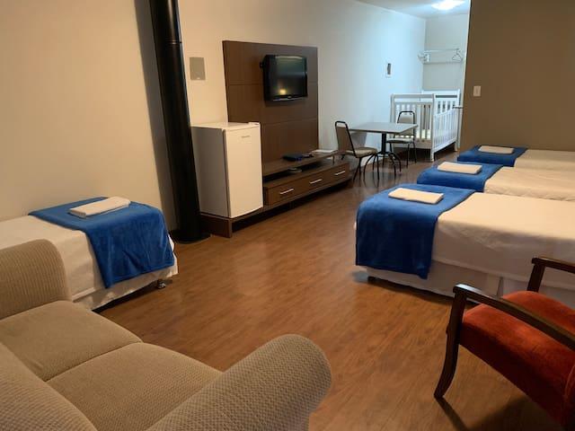 Suite Privativa Familiar 6 OK Hostel
