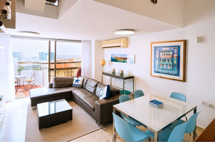 Family Friendly Sea View Penthouse