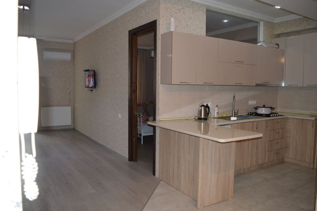 meetingroom with kitchen