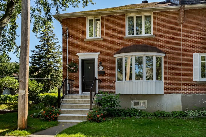 Charming NDG House On Quiet Street
