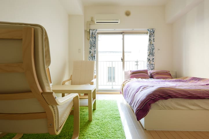 6min walk from Shinsaibashi! Great for shopping! - Ōsaka-shi - Apartment