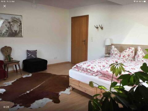 Sunny room with balcony near Innsbruck