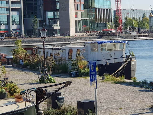 Beagle Houseboat; central, spacious and light