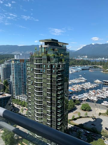 Downtown Condo With Stunning Views of Stanley Park