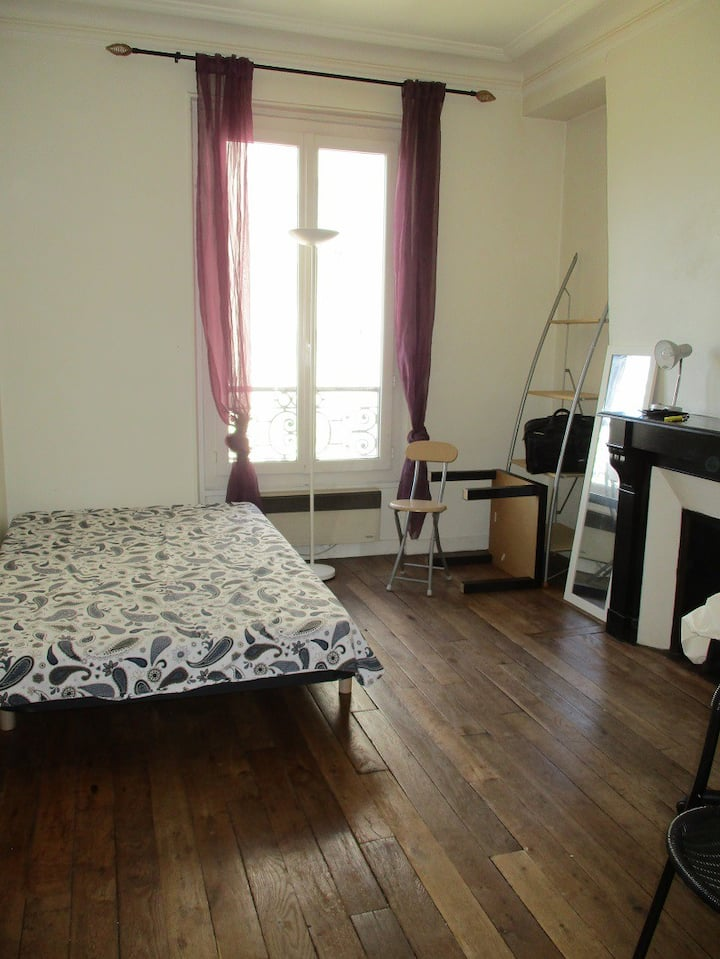 Charming studio, 15th arrondissement of Paris