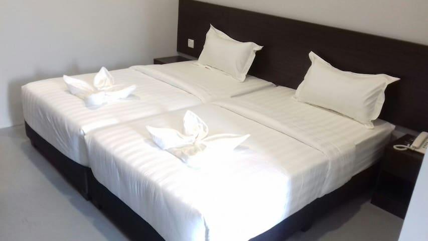 Standard Twin Bedroom - Ipoh - Hotel butique