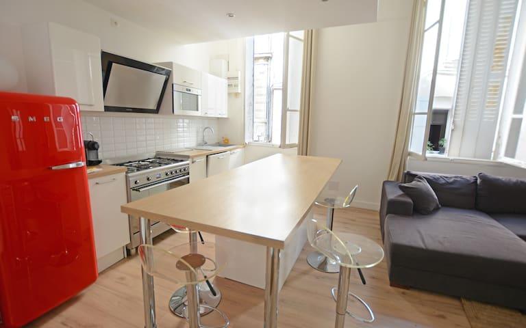 appartement T2 50m2 rénové  clim wifi