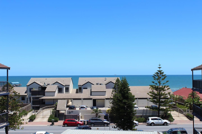 Superb ocean views from main bedroom balcony