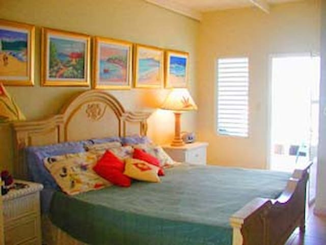 Beautiful quiet condo on the beach - The Valley - Townhouse