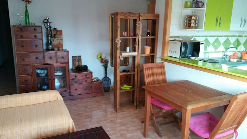 Acogedor y bonito piso de dos dormitorios - Benetússer - Pis